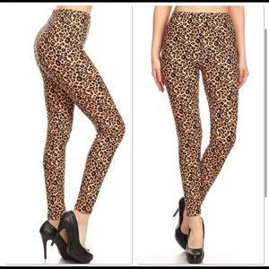 Pants - New🌸Leopard print leggings buttery soft